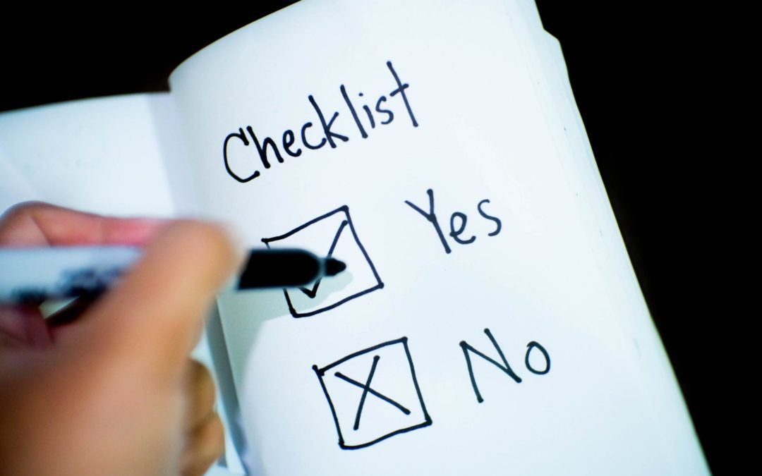 Commercial moving checklist