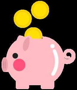 -illustration of a piggy bank