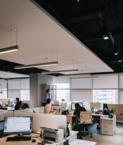 -office atmosphere