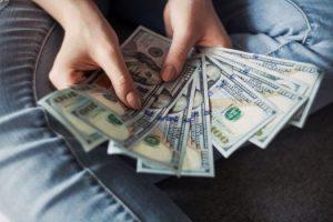 -money in hand