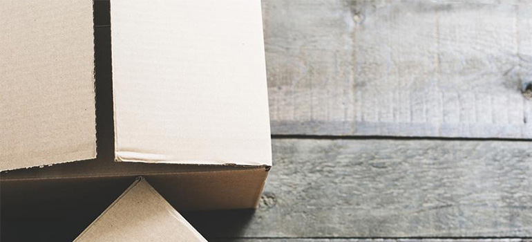 Boxes that Somerset County movers use
