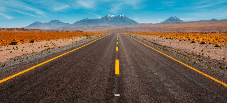 A road leading to the destination of your choice.