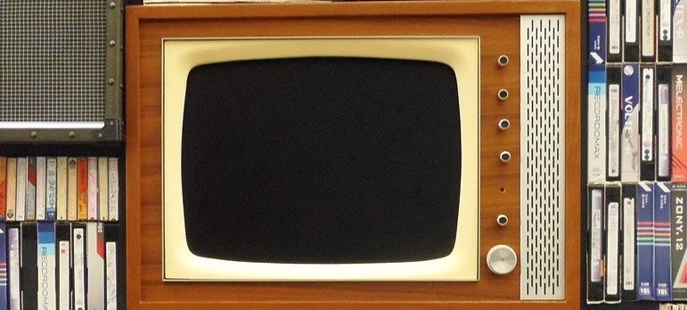 Old TV and cassettes you will probably get rid of in order to downsize your home effectively.