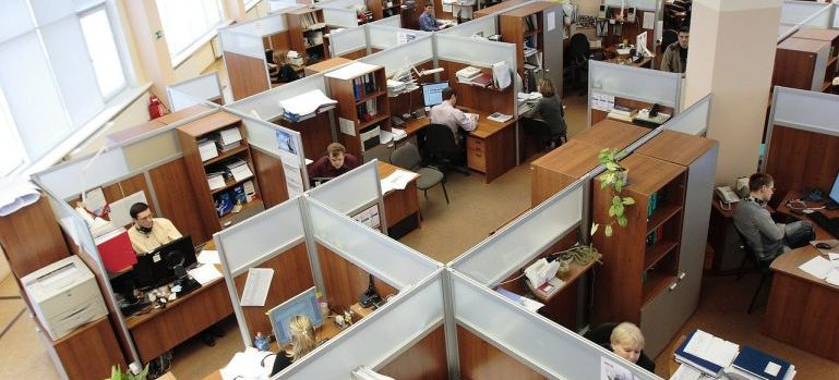An office our Elizabeth movers can relocate for you.