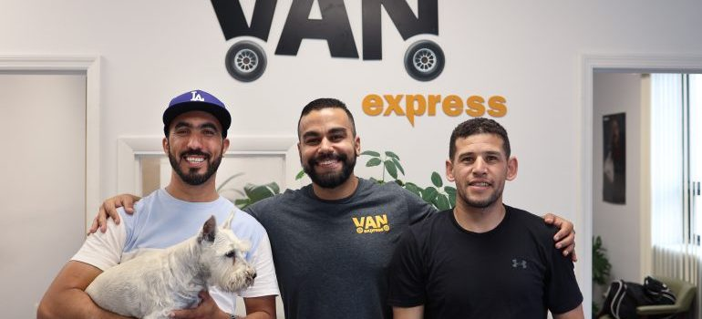 local movers NJ smiling