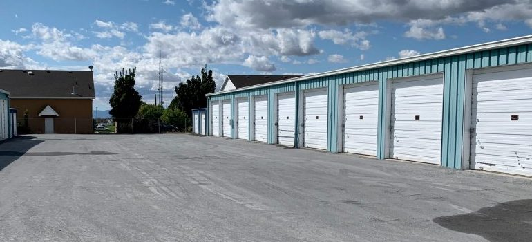 a storage facility from the outside