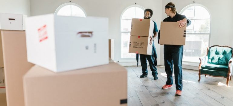 Experienced Dumont movers.